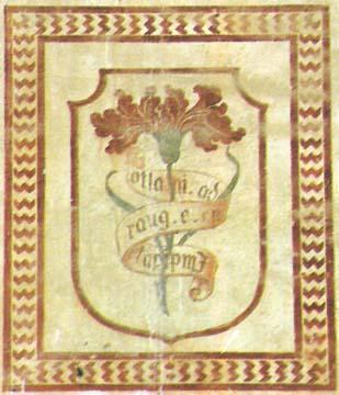 Il garofano rosso con l'enigmatica scritta