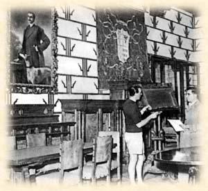 Esercitazione nel laboratorio della Scuola della Istituzione Visconti