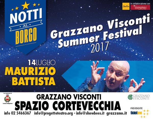 Notti al Borgo 14 luglio 2017 Battista