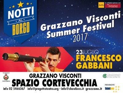 Notti al Borgo 2017 Gabbani