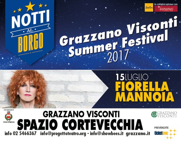Notti al Borgo Fiorella Mannoia 15 luglio 2017
