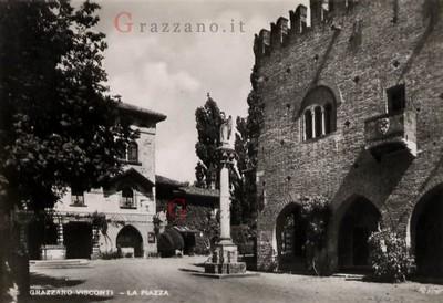 La Piazza Gian Galeazzo Visconti
