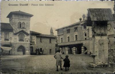 Piazza Gian Galeazzo Visconti 1915